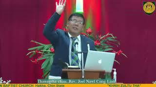 Rev Joel Nawl Cung Lian Zion Baptist Church 2020 December 27