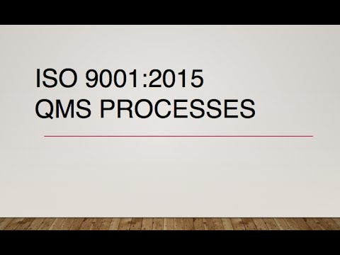 Iso 9001 2015 qms processes youtube iso 9001 2015 qms processes ccuart Choice Image