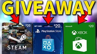 FORTNITE GIVE AWAY VIDEO!! ENTER NOW TO WIN ! LIMITED TIME ENTRY, GIFT CARD OF YOUR CHOICE!