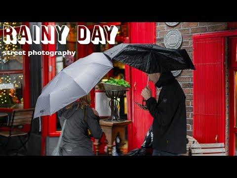 Rainy Day Street Photography in Dublin Ireland
