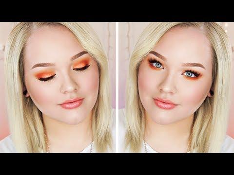 Hot Orange King's Day/Koningsdag Makeup Tutorial