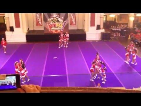 SLS Allstars Youth Cheer Level 2 Jamfest Blackpool 2015