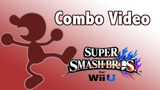 Nine An SSB4 Mr Game and Watch Combo Video