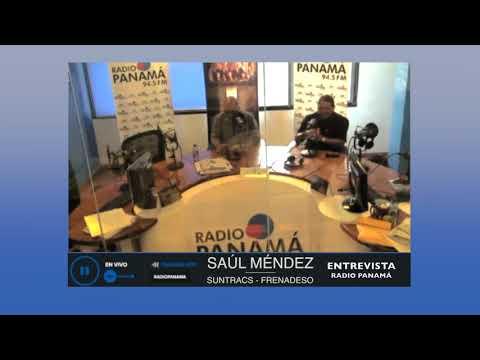 Saúl Méndez en Radio Panamá 812018