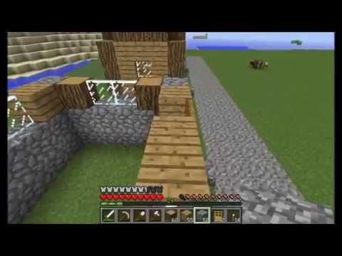Как построить деревню жителей в minecraft 1 я часть
