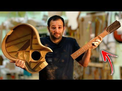Como é feito um violão #Boravê