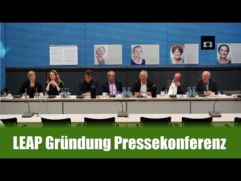 LEAP Deutschland Gründung Pressekonferenz