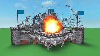 Roblox Dünyasını Havaya Uçurdum 💣| Roblox Destruction Simulator
