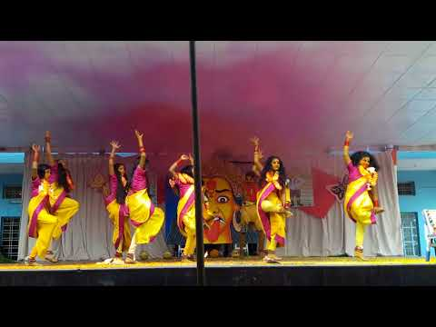 Telangana Bonalu Dance By Paramita School Children