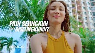 Pilih Selingkuh atau Diselingkuhin Oleh ANDREA Aylin? | Q&A Juara Miss POPULAR 2017 | Next Top Model