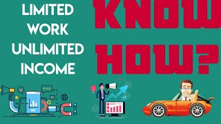 INCOME//UNLIMITED INCOME//MONEY GENERATION//ACTIVE INCOME PASSIVE INCOME// PAISA KESE EARN KRE//