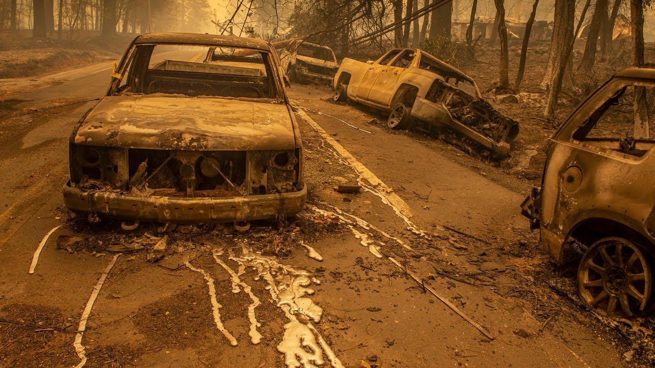 Kaliforniya yangınları teorileri...