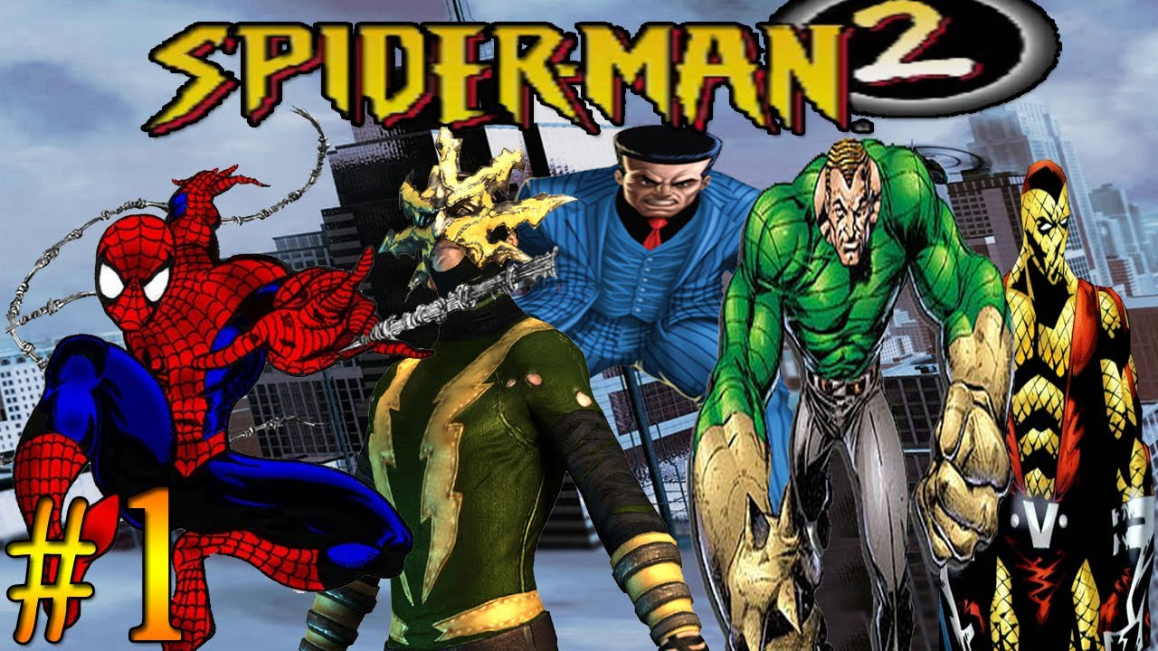 lets play spiderman 2 enter electro ps1 part 1 hd