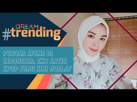 Pesona Ayana di Indonesia, Eks Artis Kpop yang Kini Mualaf