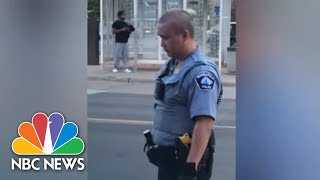 Video Shows Minneapolis Police Pinning Down Man Who Died After Incident | NBC News NOW