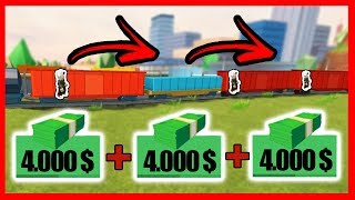 TIP EARN QUICK MONEY on the TELETRANSPORTING TRAIN IN JAILBREAK - Roblox