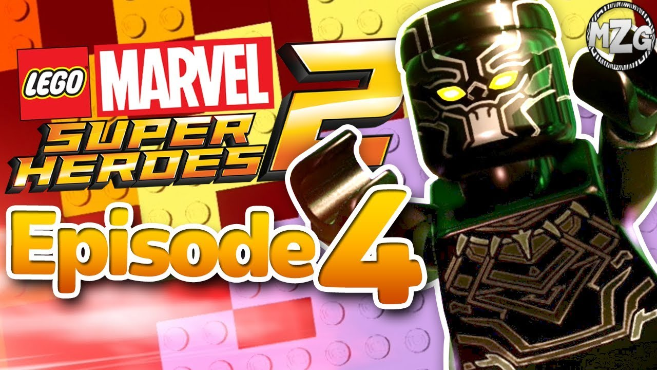 Black Panther vs  Man Ape! - LEGO Marvel Super Heroes 2 Gameplay - Episode  4 (What's Klaw is Mined)
