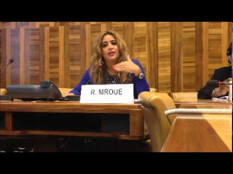 Rowaida Mroue @ 4th Intl Forum of NGOs on Women Rights,UN Geneva(Part2)