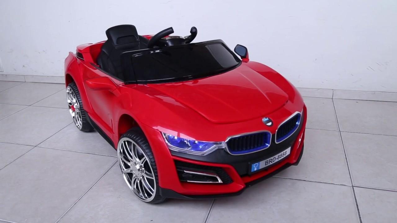 Auto Para Ninos A Bateria Simil Bmw 12v C Control Remoto Mp3 Y Luz