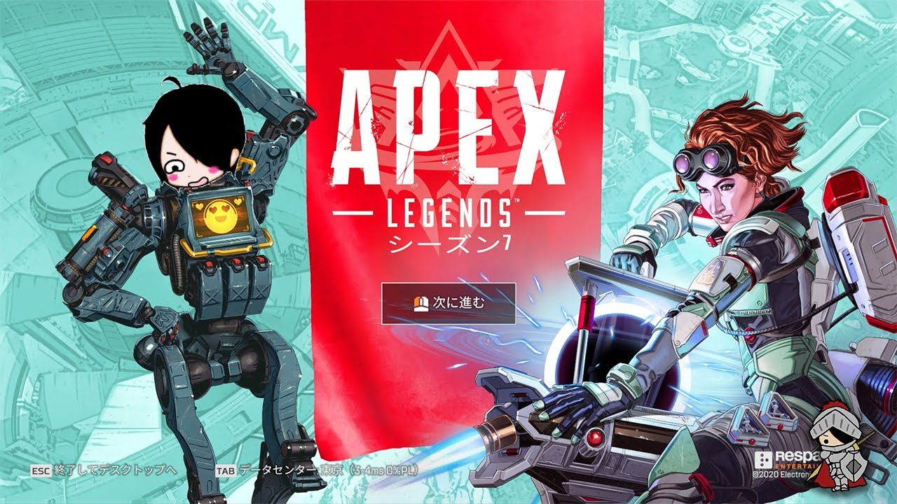 【Apex】エーペックスに夢中【生放送】~#黒騎士Y