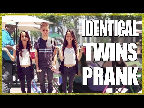 Twin Girls Prank