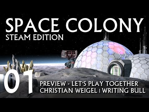 Preview | Let's Play: Space Colony Steam Edition (01) [deutsch]