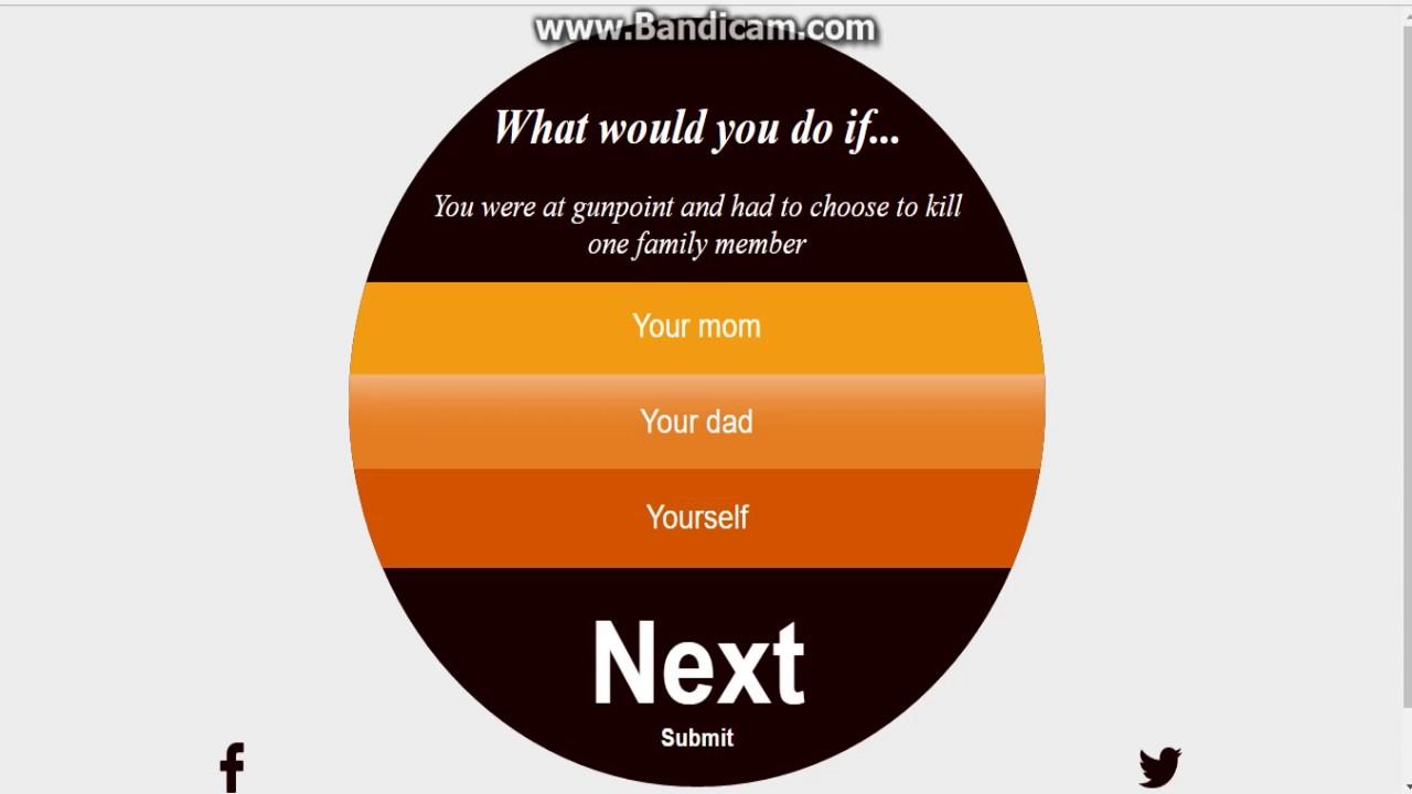 WEIRD, WEIRDER, WEIRDEST QUESTIONS! What would you do if quiz