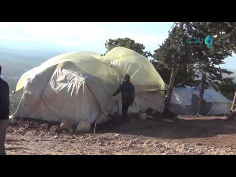Winter misery for Harem camps' refugees in Idlib