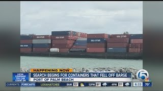 Cargo ship loses 25 containers, diverts to Port of Palm Beach