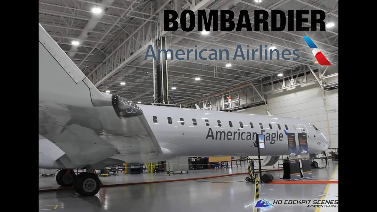 Brand New American Airlines Crj900 Next Gen Exclusive Cabin Tour