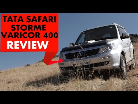 New Tata Safari Storme Varicor 400 | Review | PowerDrift