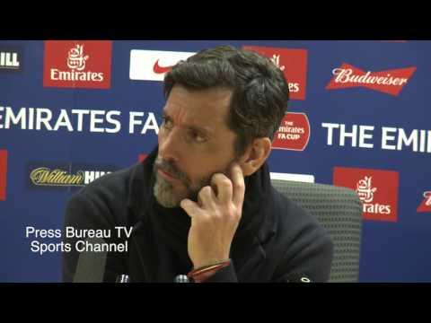 Quique Sánchez Flores reaction Arsenal vs Watford FA CUP
