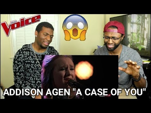 "The Voice 2017 Addison Agen - Top 11: ""A Case of You"" (REACTION)"