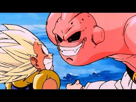 Dragon ball z amv beef gotenks vs super buu youtube - Bou dragon ball z ...