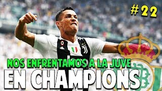 JUGAMOS VS CRISTIANO RONALDO EN CHAMPIONS #22 Real Betis | FIFA 19 Modo Carrera Manager Temp. 2