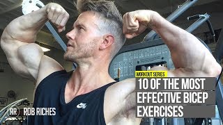 10 Bicep Exercises YOU NEED to be Doing!  [CC]