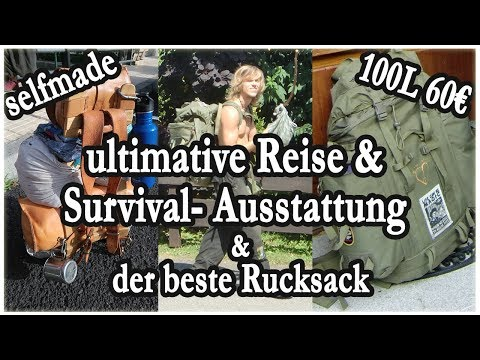 Bester Reise-Rucksack/ Backpack und Ausrüstung + Tipps