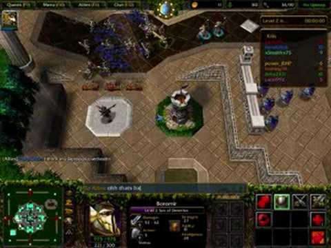 Warcraft 3 reighn of chaos Lord of the rings Bfme 2  YouTube