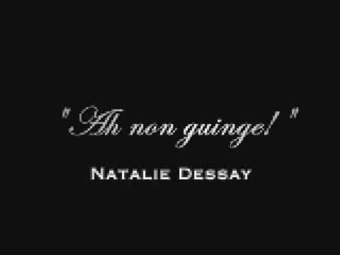 dessay high Natalie dessay (french: [natali dəsɛ] born nathalie dessaix, 19 april 1965, in lyon) is a french opera singer who had a highly acclaimed career as a coloratura soprano before leaving the opera stage on 15 october 2013.