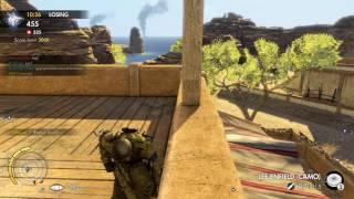 Sniper Elite 3 Multiplayer  Team Deathmatch (Beach Head) #09