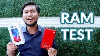 6GB RAM TEST Vivo V9 VS Redmi Note 5 - Lebih Mending Mana?