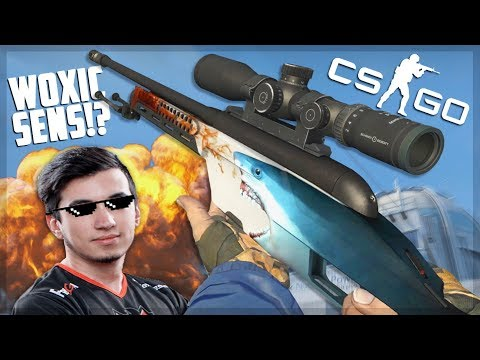 Playing CS:GO On Woxic Sensitivity... (impossible)