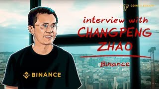 Interview with Binance's Changpeng Zhao (CZ)
