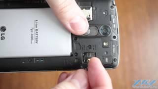 Як вставити SIM-карту в LG G3 Stylus (XDRV.RU)