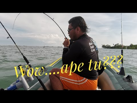 Inflatable Boat Fishing Malaysia 🇲🇾