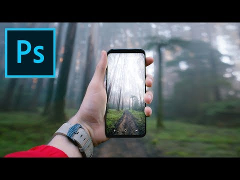 HOW TO PHOTOSHOP A See Through Phone! (Easy Tutorial)