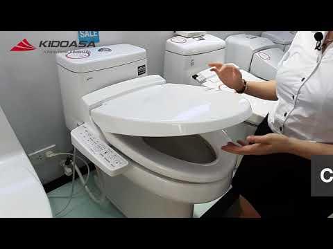 Trải nghiệm thực tế nắp rửa thông minh INAX CW-KB22AVN
