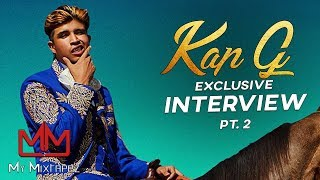 Kap G - Talks Acting in Hollywood, Working with Lil Uzi Vert & Pharell [Part 2]