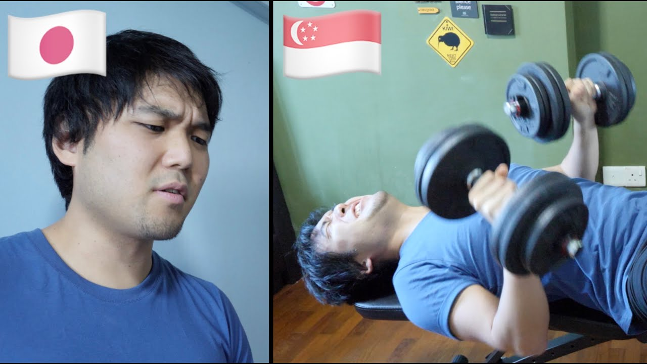 Fitness in Singapore vs Japan