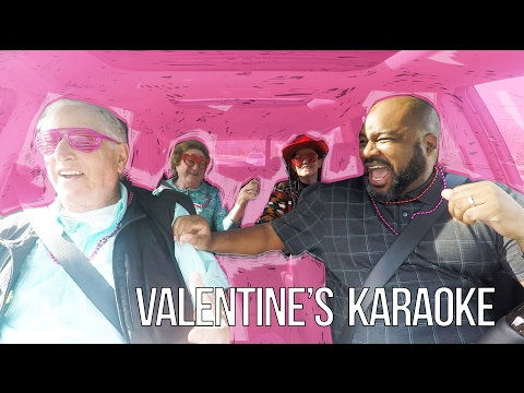 Official - Valentine's Day Carpool Karaoke at Senior Living Communities!!